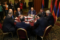 Aghvan Hovsepyan took part in Roundtable Discussion dedicated to Human Rights Day