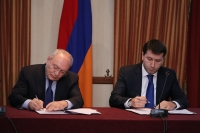 The Chairman of RA Investigative Committee and RA Ombudsman signed a memorandum