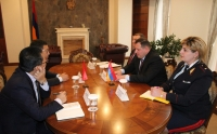 grigoryan's meeting with chineese