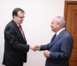 The Chairman of RA Investigative Committee Aghvan Hovsepyan received the US Ambassador Extraordinary and Plenipotentiary to Armenia Richard Mills