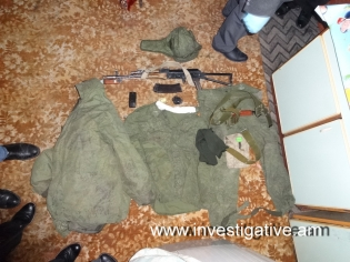 DNA of the defendant Valeri Permyakov found on military uniform, results of forensic genetic examination received