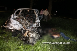 Car crash caused the death of 7 young men; a criminal case initiated