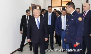 Opening of new administrative building of Kotayq Regional Investigative Department of RA Investigative Committee held (Photos)