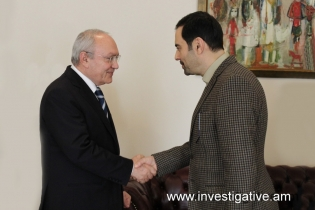 Chairman of the RA Investigative Committee received Ambassador of IRI to Armenia (Photos)