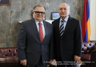 Chairman of the RA Investigative Committee Aghvan Hovsepyan received the newly appointed Head of the OSCE Office in Yerevan, Ambassador Argo Avakov (Photos)