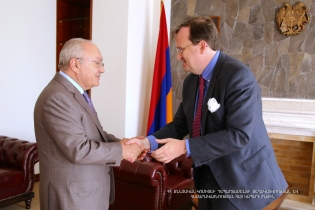 Chairman of the RA Investigative Committee received U.S. Ambassador to Armenia Richard Mills