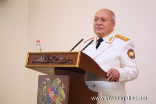 Solemn session devoted to Day of Employee of RA Investigative Committee (Photos)