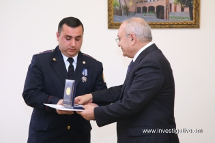 More than a dozen of dwelling thefts revealed in Kotayq; RA IC Chairman awarded for professional work (Photos)