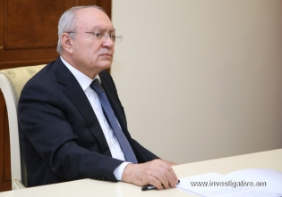 RA IC Chairman Aghvan Hovsepyan negatively assessed disclosure index of home burglaries (Photos)