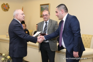 Graduates of Academy of Justice involved in list of candidates of investigators assigned at RA Investigative Committee (Photos)