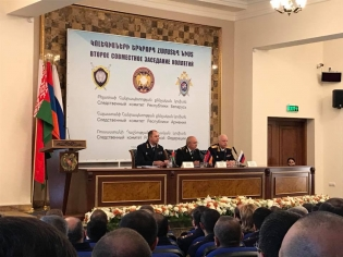 Investigative Committee of Republic of Armenia develops bilateral cooperation with Investigative Committees of Russian Federation and Republic of Belarus; memoranda of understanding signed (Photos)