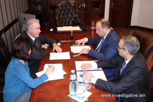 Deputy Chairman of RA Investigative Committee Vahagn Harutyunyan received representatives of INL projects of U.S. Embassy to Armenia