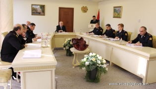 Issues on raising efficiency of organization of preliminary investigation discussed at board session of RA Investigative Committee (Photos)