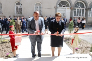 RA IC Chairman Aghvan Hovsepyan took part in opening ceremony of new administrative building of RA IC Tavush Regional Investigative Department (Photos)