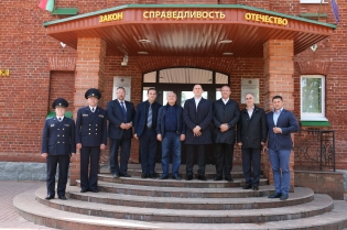 Chairman of RA Investigative Committee Aghvan Hovsepyan visited structural subdivisions of Investigative Committee of Belarus