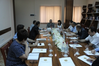 Meeting at Investigative Committee