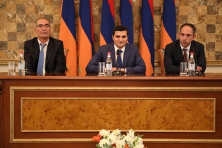 Head of Administration of Investigative Committee Aram Nikoyan Congratulated Administration Employees on Occasion of Professional Holiday (photos)