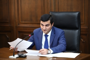 Chief of Administration of RA Investigative Committee Aram Nikoyan Presented in Parliament Report on Financial Means Provided to Investigative Committee by State Budget