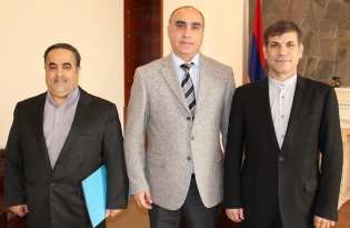 IC Deputy Chairman received Chargé d'Affaires of IRI Embassy in Armenia (photos)