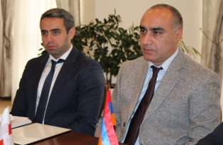 IC Deputies Chairman Received Georgian Consul in Republic of Armenia (photos)