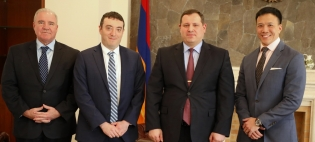 Chairman of Investigative Committee Received Delegation Headed by U.S. Embassy's International Narcotics and Law Enforcement Program Director (Photos)