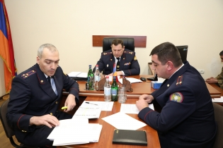 Chairman of RA Investigative Committee Summed up Work Done by Vayots Dzor Regional Investigative Department in 2018 (photos)