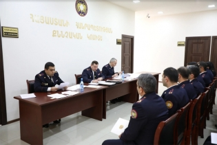 Chairman of RA Investigative Committee Hayk Grigoryan Left for Kotayk Province on Working Visit (photos)
