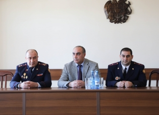 IC Deputy Chairman Introduce Newly Appointed Head of Shirak Regional Investigative Department (photos)