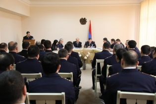 Chairman of Investigative Committee Sum up Work Done by Yerevan Investigative Department and Five Investigative Divisions of Yerevan Investigative Department in 2018 (photos)