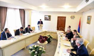 "Presentation of Guidebook on ""Grounds of Using Pretrial Measure, Procedure of Using Pretrial Measure, Detention, Keeping in Custody within Criminal Cases"" Held (photos)"