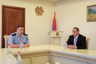 RA IC Chairman Hayk Grigoryan Presented IC Deputy Chairman Arsen Ayvazyan (photos)