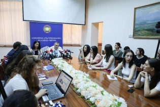 Press Conference at RA Investigative Committee