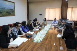 Regular Meeting with Members of Public Monitoring Group Held
