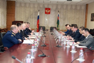 Working Meeting of Chairmen of Investigative Committees of Republic of Armenia and Russian Federation Held in Moscow (photos)