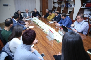 Head of IC Organizational-Analytical and Criminological General Department of Special Tasks Met Representatives of a Number of Business Companies (photos)