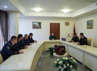 Chairman of Investigative Committee Awarded Deputy Prosecutor of Kotayk Province as well as a Number of Police Officers of Kotayk Police Division (photos)