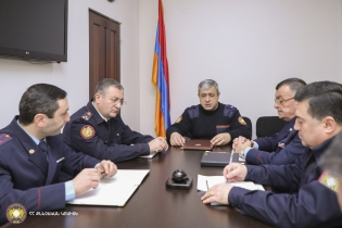 By Instruction of RA IC Chairman Hayk Grigoryan Consultation on Criminal Cases on Servicemen's Death Recorded Recently in Army Held in IC General Military Investigative Department (photos)