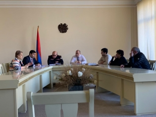 By Instruction of Chairman of RA Investigative Committee Meeting with Representatives of NGO «Armenian Union of Deaf People» Held in Yerevan Investigative Department