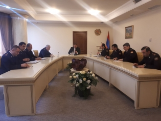 Chairman of RA Investigative Committee Hayk Grigoryan Held Consultation on Issues on Fight against Criminal Subculture