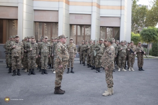 Guided by the call of the RA Prime Minister, the Investigative Committee of the Republic of Armenia enlisted 180 volunteers from the employees of the Investigative Committee to participe in the sacred defense of the Motherland