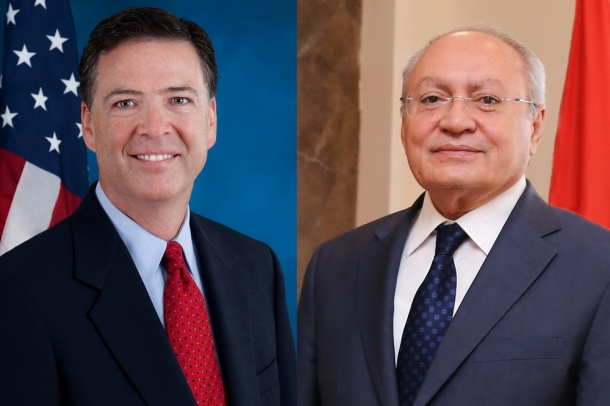 Chairman of RA Investigative Committee Aghvan Hovsepyan met Director of Federal Bureau of Investigation James B. Comey; agreement on developing cooperation achieved
