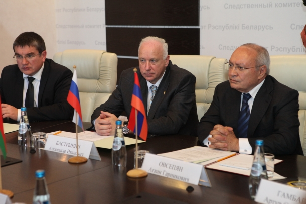 Chairmen of Investigative Committees of Armenia, Belarus and Russia arranged to create a board of heads of investigative bodies (Photos)