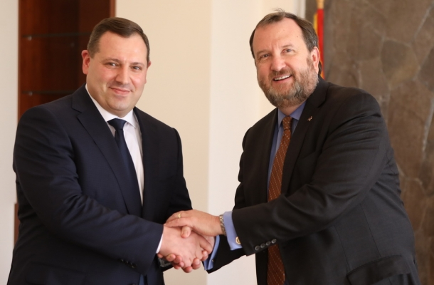 RA IC Chairman Hayk Grigoryan received U.S. Ambassador Extraordinary and Plenipotentiary to Armenia Richard Mills (Photos)
